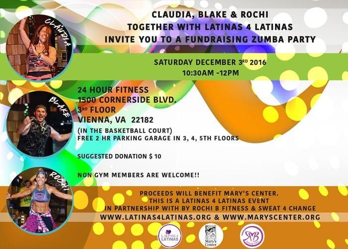 Latinas 4 Latinas Fundraising Zumba Party 2 - Latinas 4 Latinas