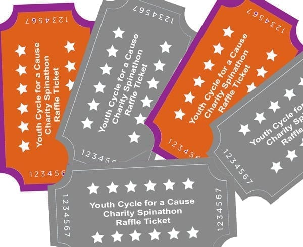 raffle tickets package of 6 latinas 4 latinas