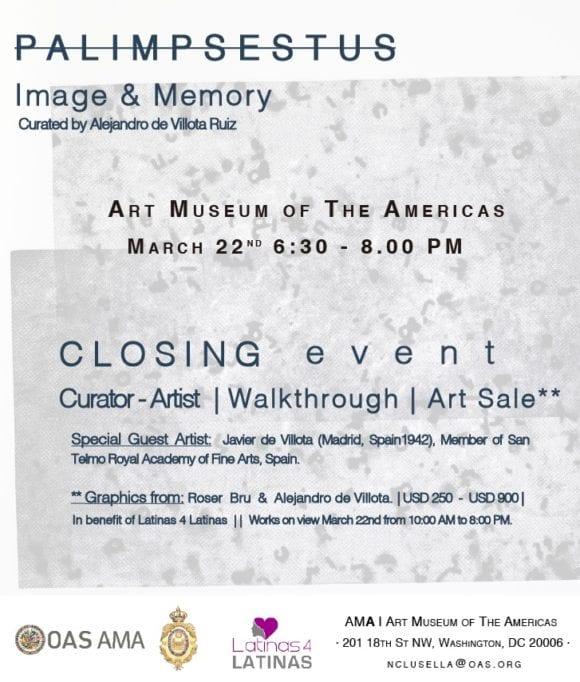 AMA | OAS Graphic Art Sale in Benefit of Latinas 4 Latinas
