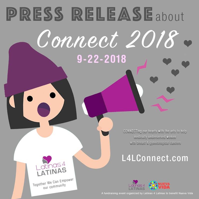 LATINAS 4 LATINAS ANNOUNCES CONNECT 2018 on SEPTEMBER 22, 2018 – Press Release